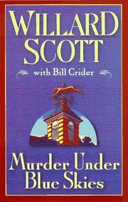 Cover art for MURDER UNDER BLUE SKIES