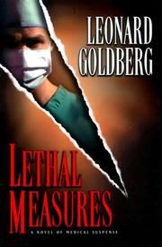 LETHAL MEASURES by Leonard Goldberg