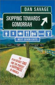 Cover art for SKIPPING TOWARDS GOMORRAH
