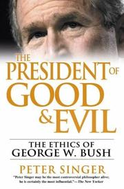 Cover art for THE PRESIDENT OF GOOD AND EVIL