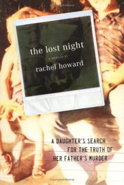 THE LOST NIGHT by Rachel Howard