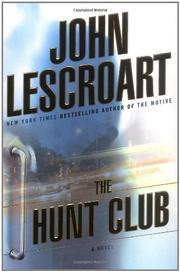 Book Cover for THE HUNT CLUB
