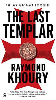 Cover art for THE LAST TEMPLAR