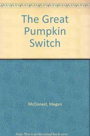 THE GREAT PUMPKIN SWITCH by Megan McDonald