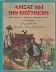 AMZAT AND HIS BROTHERS by Paula Fox