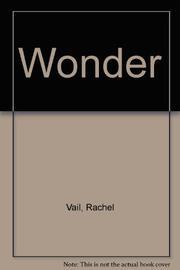 WONDER by Rachel Vail