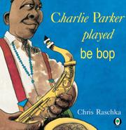 Cover art for CHARLIE PARKER PLAYED BE BOP