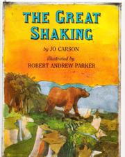 THE GREAT SHAKING by Jo Carson