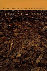 BEARING WITNESS by Hazel Rochman