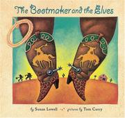 Book Cover for THE BOOTMAKER AND THE ELVES