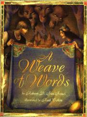 A WEAVE OF WORDS by Robert D. San Souci