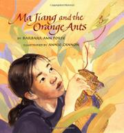 MA JIANG AND THE ORANGE ANTS by Barbara Ann Porte