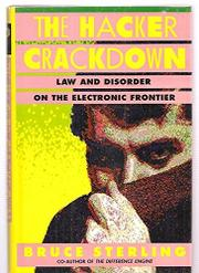 Cover art for THE HACKER CRACKDOWN