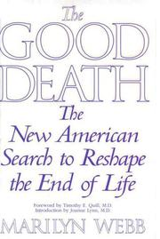 Cover art for THE GOOD DEATH