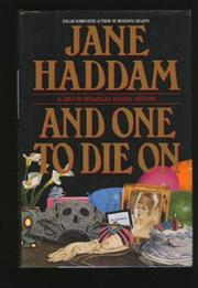 AND ONE TO DIE ON by Jane Haddam