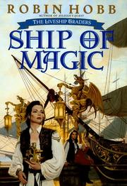 Cover art for SHIP OF MAGIC