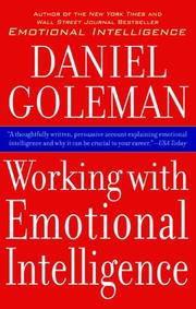 Cover art for WORKING WITH EMOTIONAL INTELLIGENCE