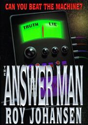 THE ANSWER MAN by Roy Johansen