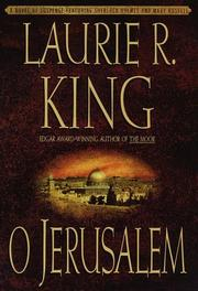 O JERUSALEM by Laurie R. King