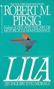 LILA by Robert M. Pirsig