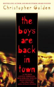 Cover art for THE BOYS ARE BACK IN TOWN