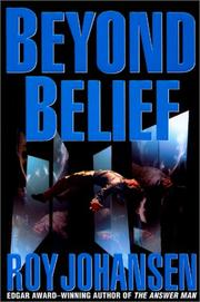 Book Cover for BEYOND BELIEF