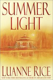 SUMMER LIGHT by Luanne Rice