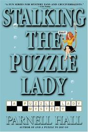 Cover art for STALKING THE PUZZLE LADY