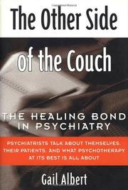 THE OTHER SIDE OF THE COUCH by Gail Albert