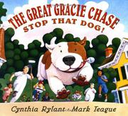 THE GREAT GRACIE CHASE by Cynthia Rylant