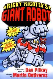 Book Cover for RICKY RICOTTA'S GIANT ROBOT