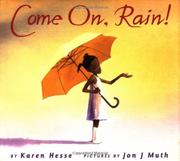 Book Cover for COME ON, RAIN!