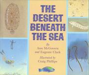 THE DESERT BENEATH THE SEA by Ann McGovern