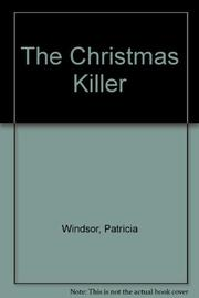 THE CHRISTMAS KILLER by Patricia Windsor