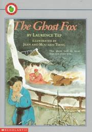Cover art for THE GHOST FOX