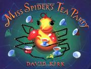 Book Cover for MISS SPIDER'S TEA PARTY