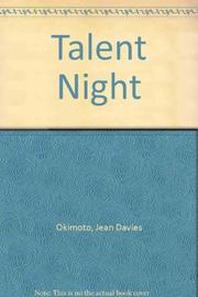 TALENT NIGHT by Jean Davies Okimoto