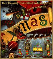 THE AMAZING CHRISTMAS EXTRAVAGANZA by David Shannon