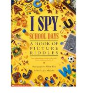 Cover art for I SPY SCHOOL DAYS