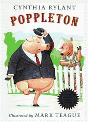 POPPLETON by Cynthia Rylant