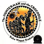 Book Cover for THE HUNTERMAN AND THE CROCODILE