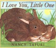 Cover art for I LOVE YOU, LITTLE ONE