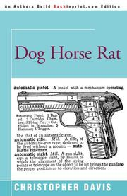 DOG HORSE RAT by Christopher Davis