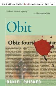 OBIT by Daniel Paisner