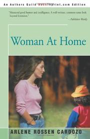WOMAN AT HOME by Arlene Rossen Cardozo