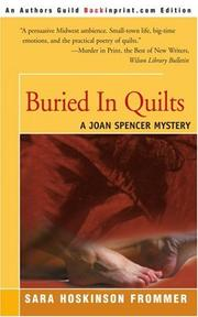 BURIED IN QUILTS by Sara Hoskinson Frommer