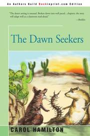 THE DAWN SEEKERS by Carol Hamilton