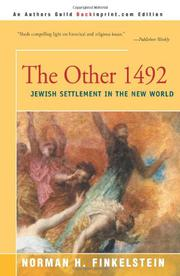 THE OTHER 1492: Jewish Settlement in the New World by Norman H. Finkelstein