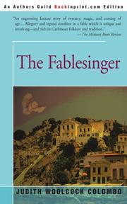 THE FABLESINGER by Judith Woolcock Colombo