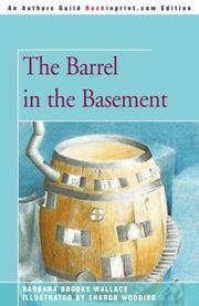 THE BARREL IN THE BASEMENT by Barbara Brooks Wallace